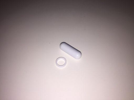 25mm roervlo met afneembare ring
